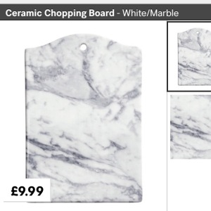 Marble Design Ceramic Chopping Board