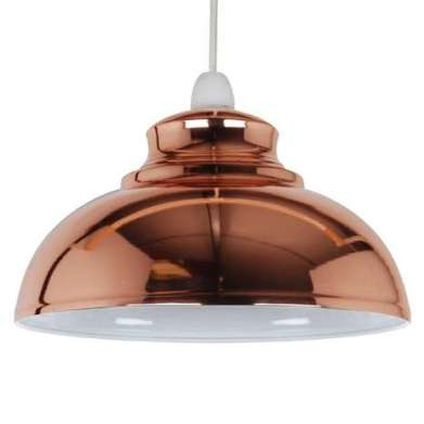 Copper light Dunelm